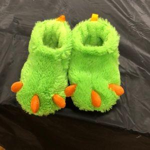 Monster Feet Slippers. Size 5.